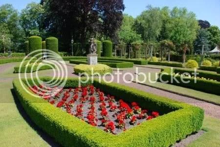 De franse engelse en duitse tuin van kasteel bouvigne for Franse tuin