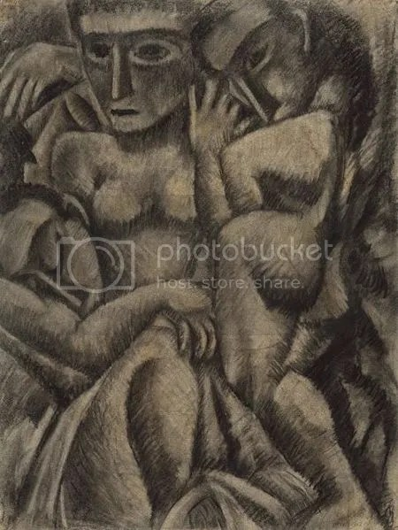 photo MaxWeberCompositionWithFourFigures1910CharcoalAndPastelOnLaidPaper.jpg