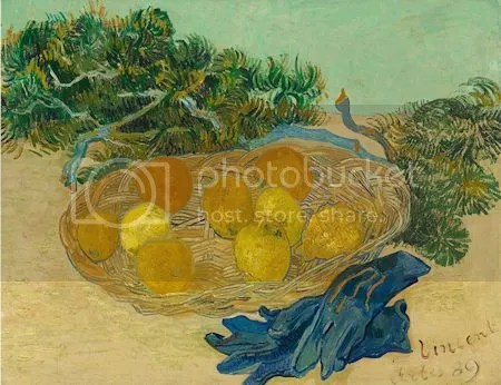 photo VincentVanGoghStillLifeOfOrangesAndLemonsWithBlueGloves1889OilOnCanvas.jpg