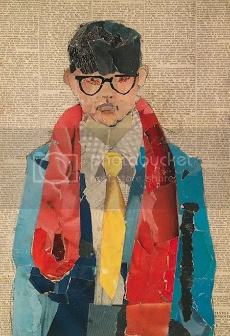 photo DavidHockneySelfPortrait1954CollageOnNewsprint.jpg