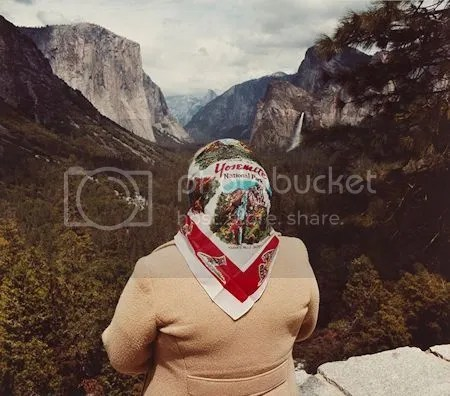 photo RogerMinickWomanWithScarfAtInspirationPointYosemiteNationalPark1980ChromogenicPrint.jpg