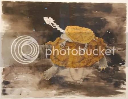 photo DSC_7401ErikAndriesseSchildpadden1991GemengdeTechniekOpPapier.jpg