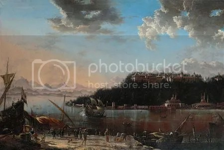 photo HansDeJodeViewOfTheTipOfTheSeraglioWithTopkapPalace1659Canvas.jpg