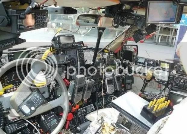 Image result for cb radio in car
