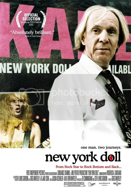NY Doll theatrical poster