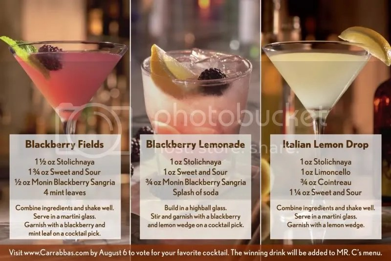 Carrabbas Italian Grill Mix It Up For MDA Event July