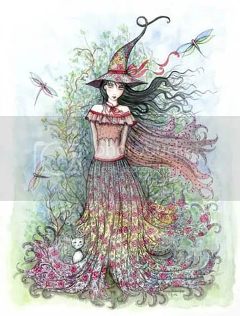 The Witch Who Celebrates Spring © Molly Harrison