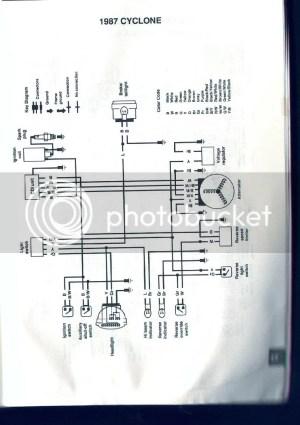 Polaris Cyclone wiring diagram  ATVConnection ATV Enthusiast Community