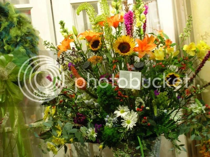 A garden based arrangement
