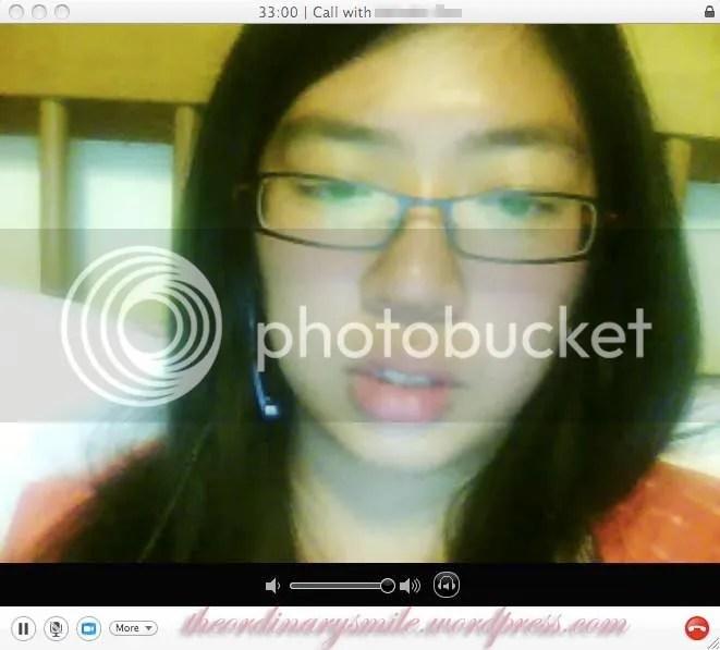 M back in Singapore for her summer break