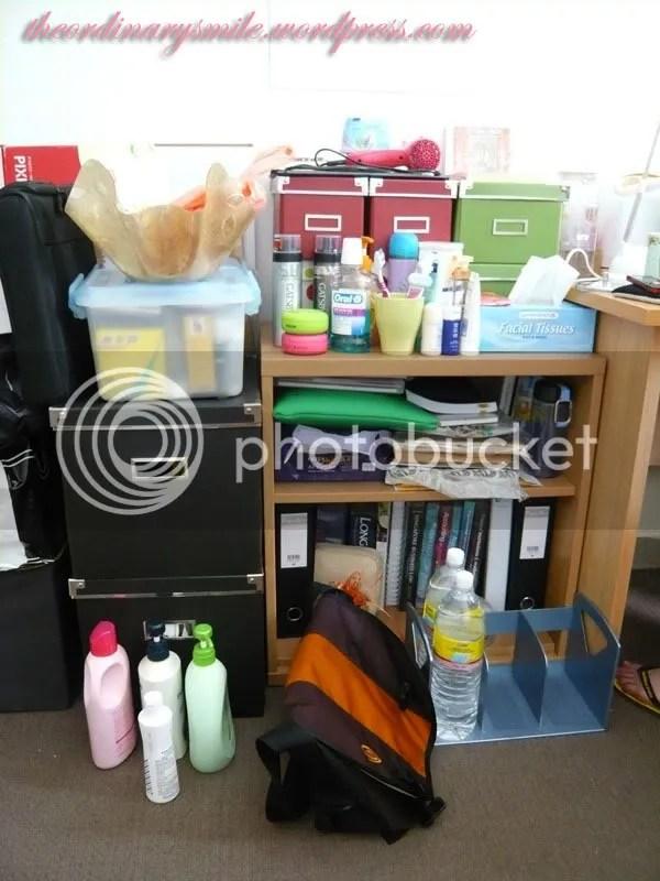 All her stuff