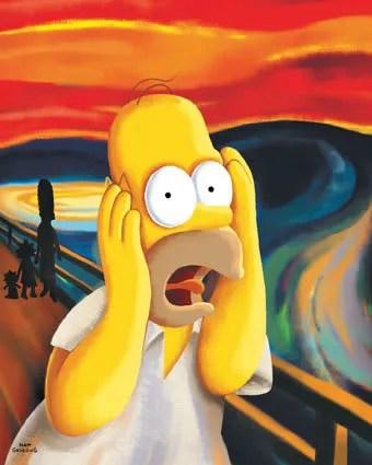 Simpsons tecknad kön videor