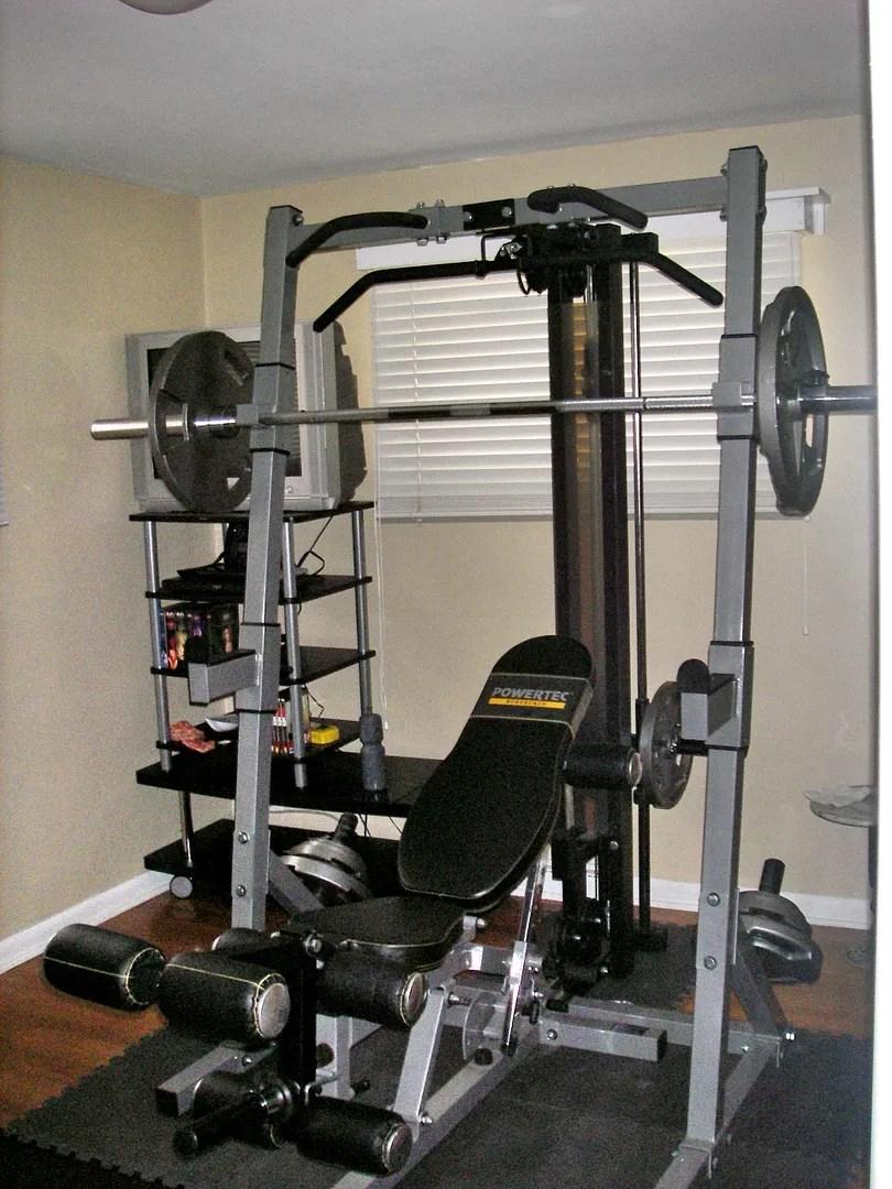 Evolution Of One Guys Home Gym Long Bodybuilding Com