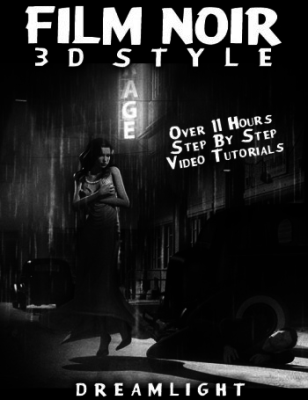Basic 3D Training - Film Noir 3D Style