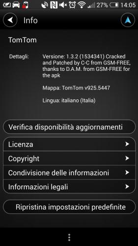 [ANDROID] TomTom Europa v1.3.2 + Mappa 925.5447 - ITA