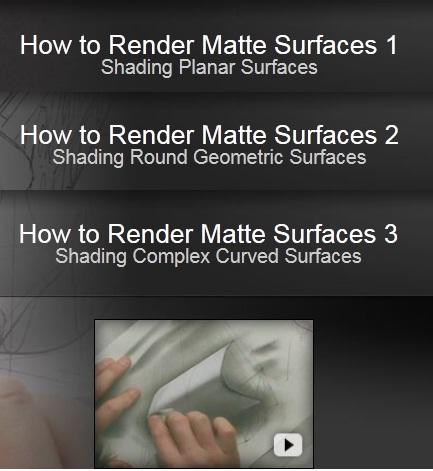 The Gnomon Workshop - How To Render Matte Surfaces Vol 1,2,3
