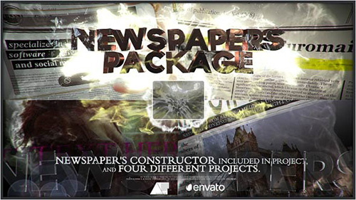 [Videohive] Newspapers Package - Project for After Effects