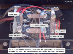 in cab switch wiring  Australian 4WD Action   Forum