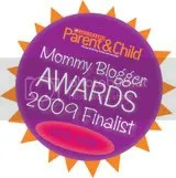 Scholastic Mommy Blogger Awards Finalist