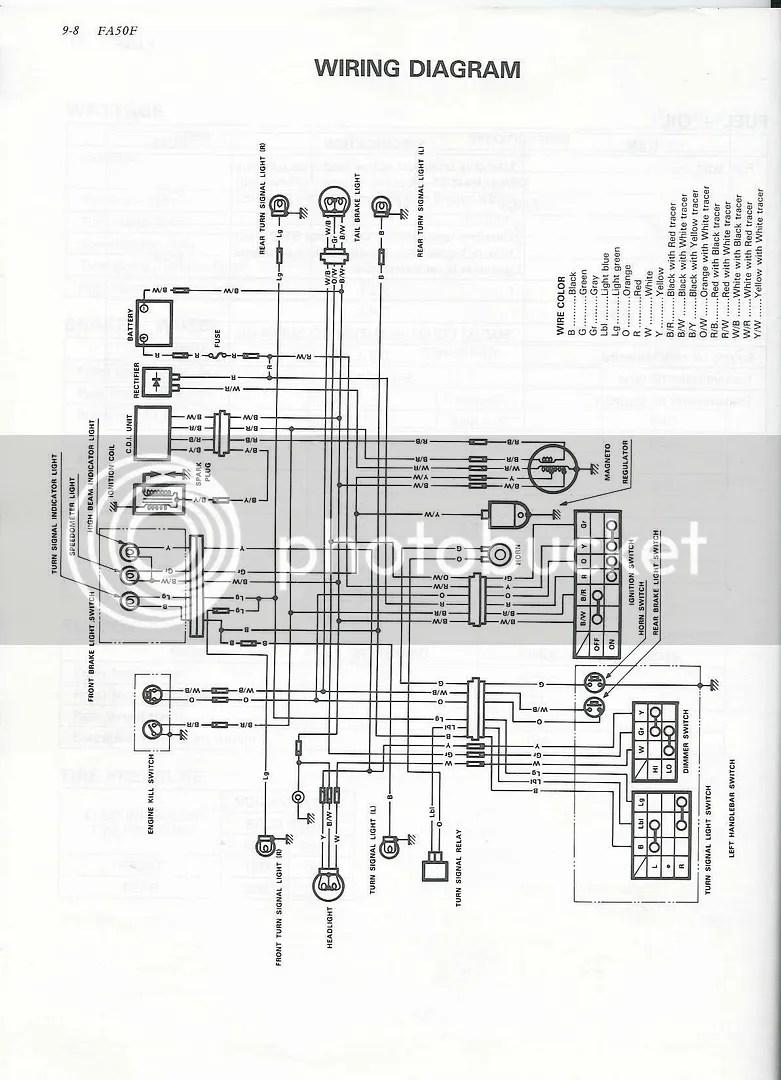 Re Desperately Need A Suzuki Fa50 Wiring Diagram