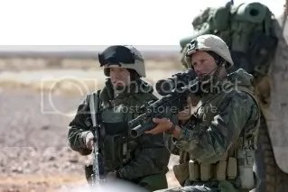 Fick and Colbert in Generation Kill
