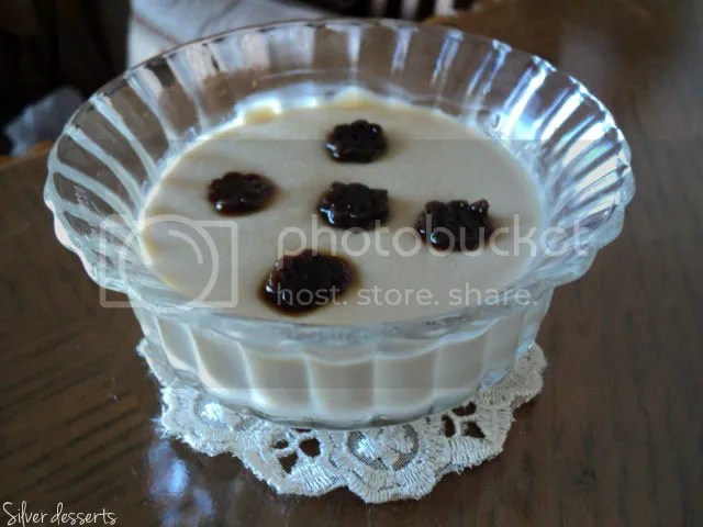 liquorice pudding