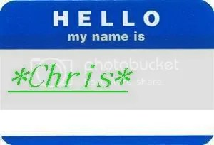 hello my name is chris Pictures, Images and Photos