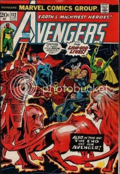 Exhibit D: Avengers #112