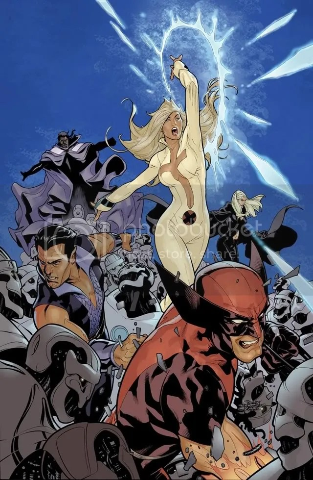 Why is the Dark X-men on the cover?