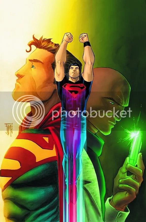 Superman, Superboy, and Luthor. I smell sitcom.