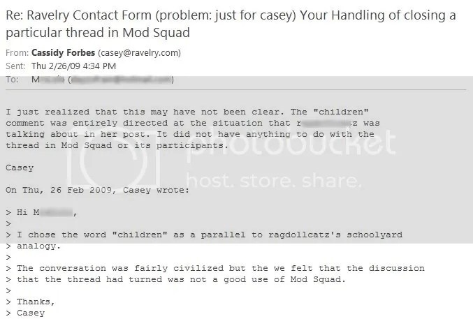 Casey Email