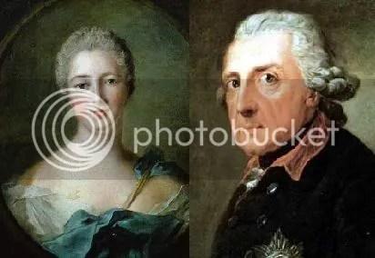 madame pompadour vs federico II de prusia