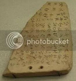 piedra escritura