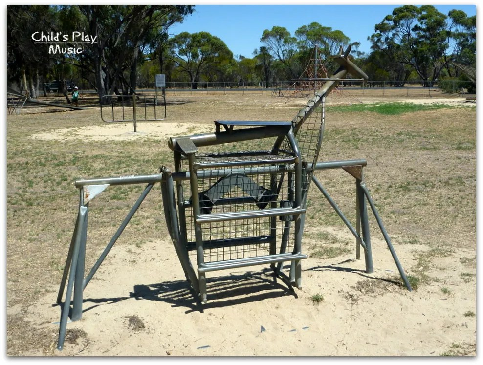 Horse-style large ride-on at Katanning All Ages Playground