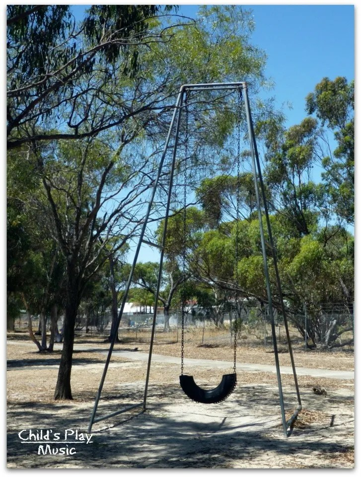 Big swing at Katanning All Ages Playground