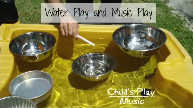 Water play, music play & children: a natural combination | Child's