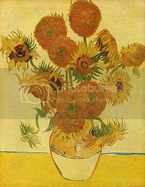 Zonnebloemen, cuarta versión (1888), Van Gogh