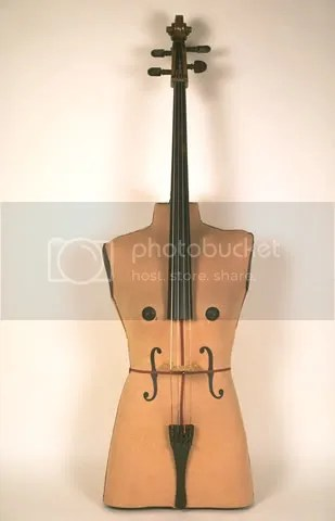 Violoncello by Ken Butler