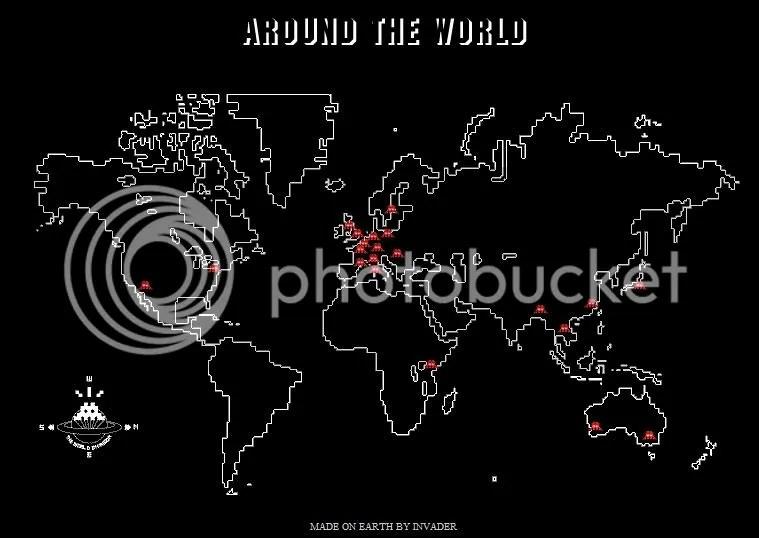 Mapa de la invasión
