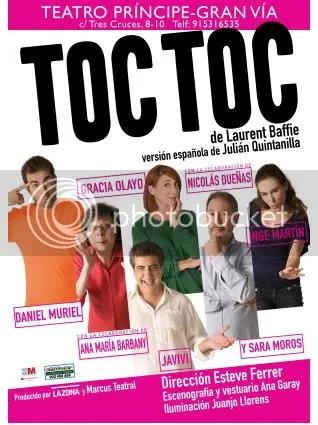 Toc Toc, en el Teatro Príncipe
