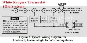 Thermostat wiring question | Terry Love Plumbing & Remodel DIY & Professional Forum
