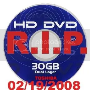 HD-DVD, o fim anunciado
