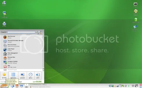 Screenshot KDE