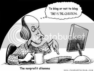 Blogar ou não blogar?