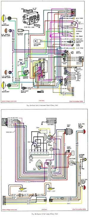 First Gen Color wiring diagram (Here it is !)