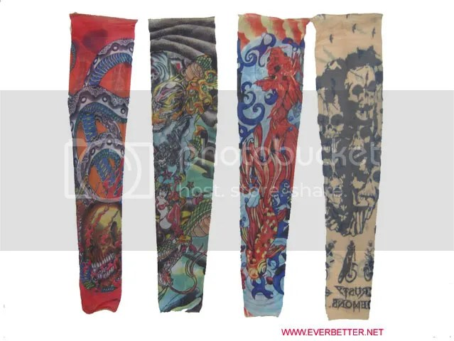 I always thought tattoo sleeves were lame. These Tattoo Socks, on the other