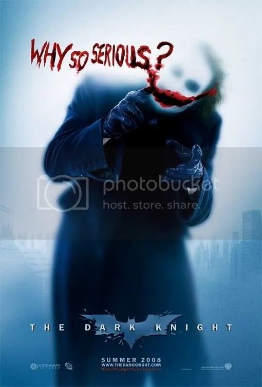 Joker in Dark Knight