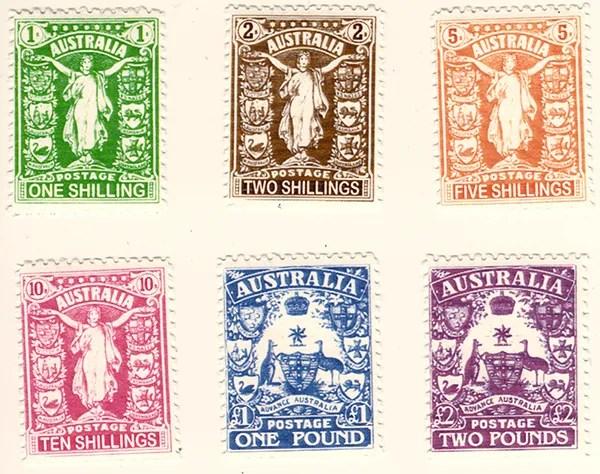 Gerald King - Alternative Australia - 1911. Australia - Unity (Stamps)