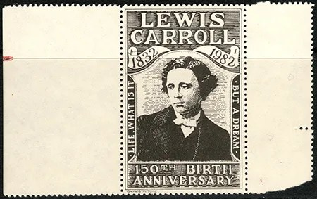 Gerald King - Lewis Carroll 150th Birth Anniversary - Stamp