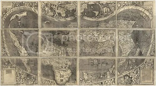 The Waldseemüller map